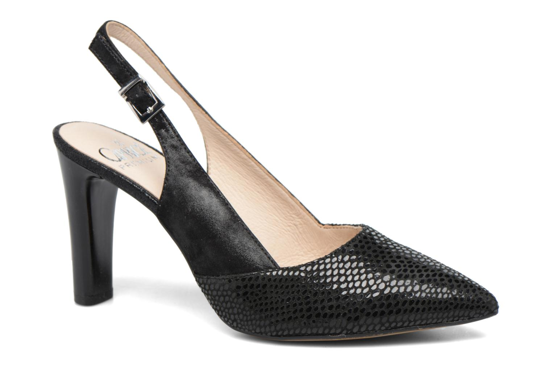 Zapatos de tacón Caprice Effi Negro vista de detalle / par