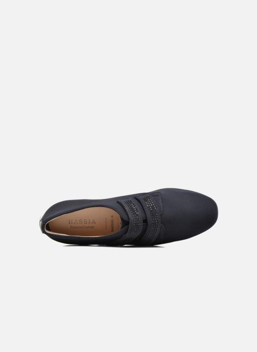 Sneakers Hassia Sanremo 1444 Blauw links