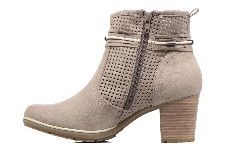 Boots en enkellaarsjes Jana shoes Paz Grijs voorkant
