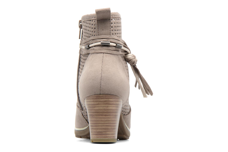 Boots en enkellaarsjes Jana shoes Paz Grijs rechts
