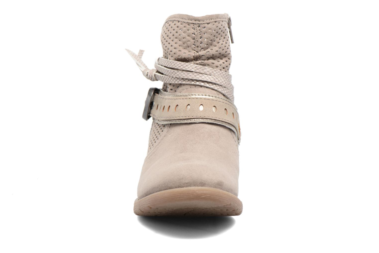 Botines  Jana shoes Nani Beige vista del modelo