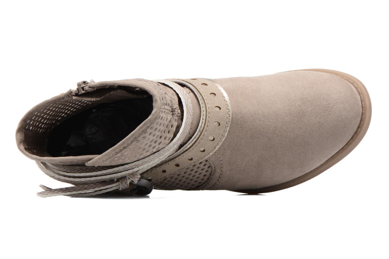 Botines  Jana shoes Nani Beige vista lateral izquierda