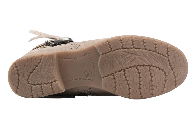 Botines  Jana shoes Nani Beige vista de arriba