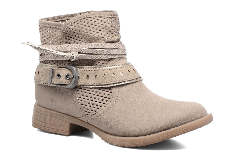 Botines  Jana shoes Nani Beige vista de detalle / par