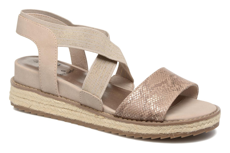 Sandalias Jana shoes Meli Marrón vista de detalle / par