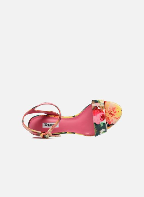 Sandales et nu-pieds Dune London Moonflower Multicolore vue gauche