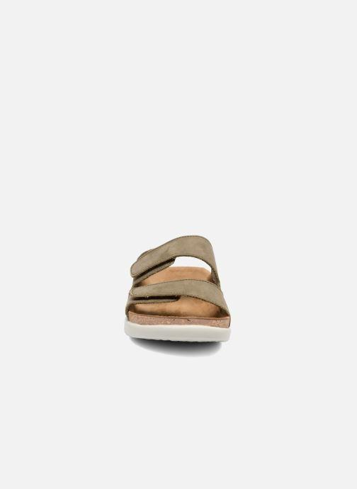 Mules et sabots El Naturalista Koi N5090 Vert vue portées chaussures