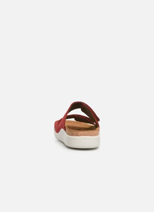Mules & clogs El Naturalista Koi N5090 Red view from the right