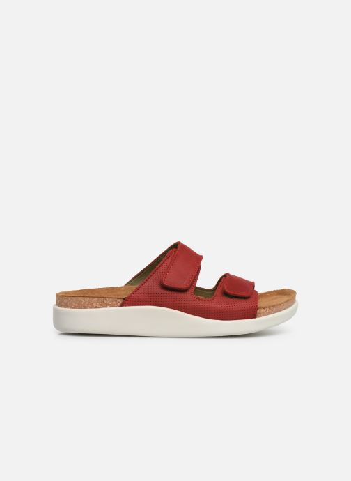 Mules & clogs El Naturalista Koi N5090 Red back view