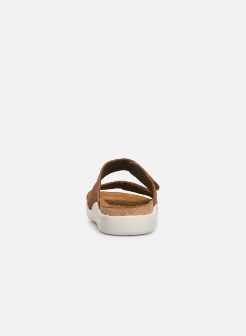 Mules & clogs El Naturalista Koi N5090 Brown view from the right