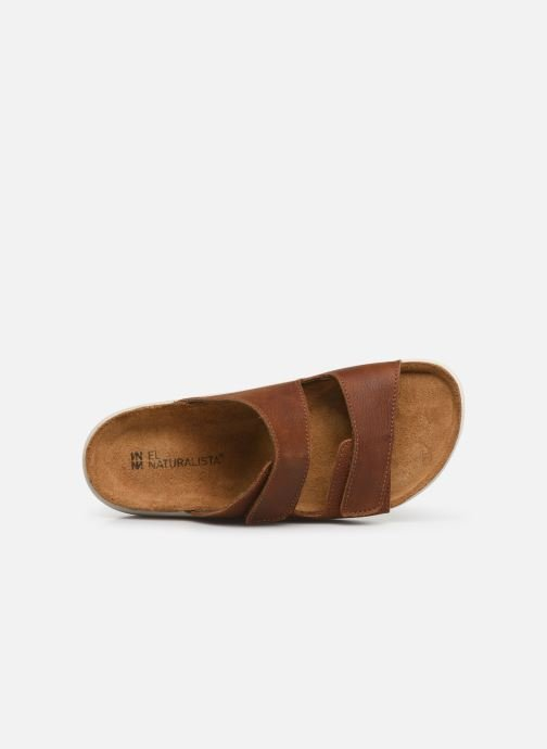 Mules & clogs El Naturalista Koi N5090 Brown view from the left