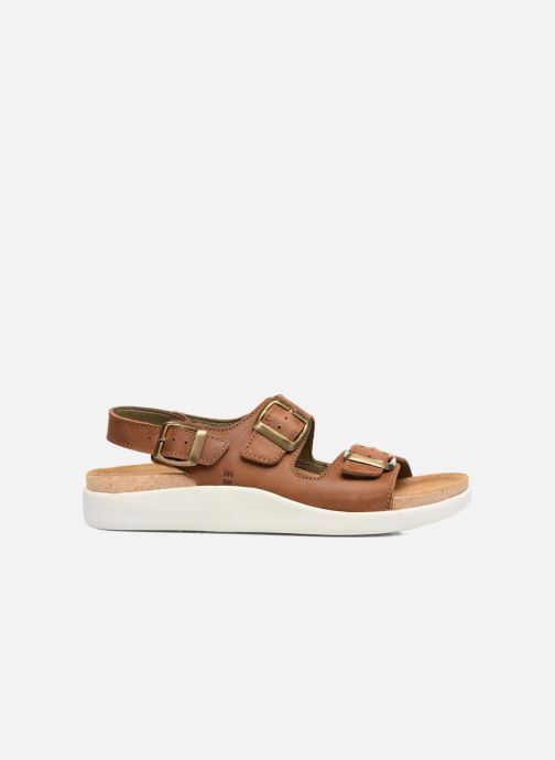 Sandals El Naturalista Koi N5091 Brown back view