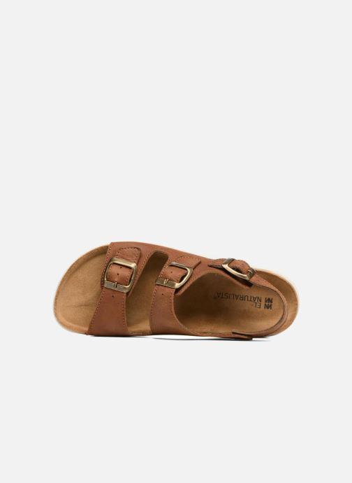 Sandales et nu-pieds El Naturalista Koi N5091 Marron vue gauche