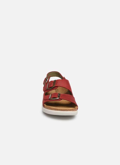 Sandales et nu-pieds El Naturalista Koi N5091 Rouge vue portées chaussures