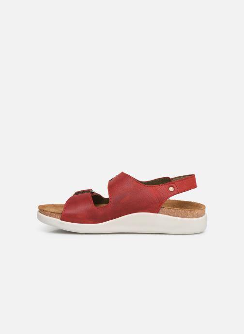 Sandales et nu-pieds El Naturalista Koi N5091 Rouge vue face