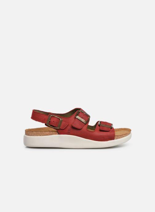 Sandales et nu-pieds El Naturalista Koi N5091 Rouge vue derrière