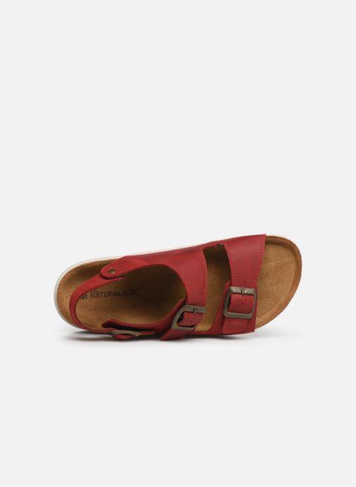 Sandales et nu-pieds El Naturalista Koi N5091 Rouge vue gauche