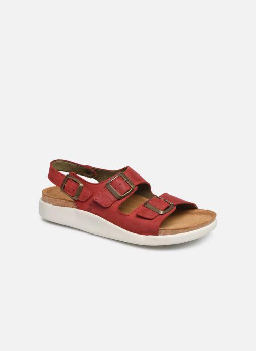 Sandales et nu-pieds El Naturalista Koi N5091 Rouge vue détail/paire
