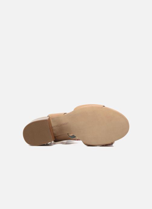 Sandales et nu-pieds Rebecca Minkoff Calissa Noir vue haut