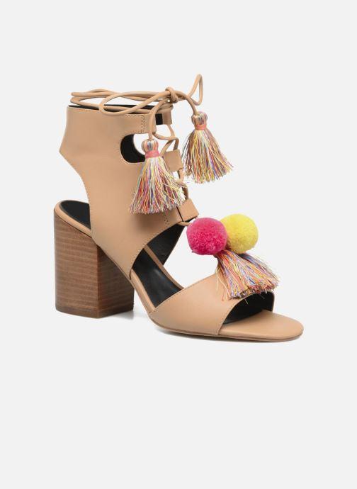 Sandales et nu-pieds Rebecca Minkoff Calissa Noir vue détail/paire