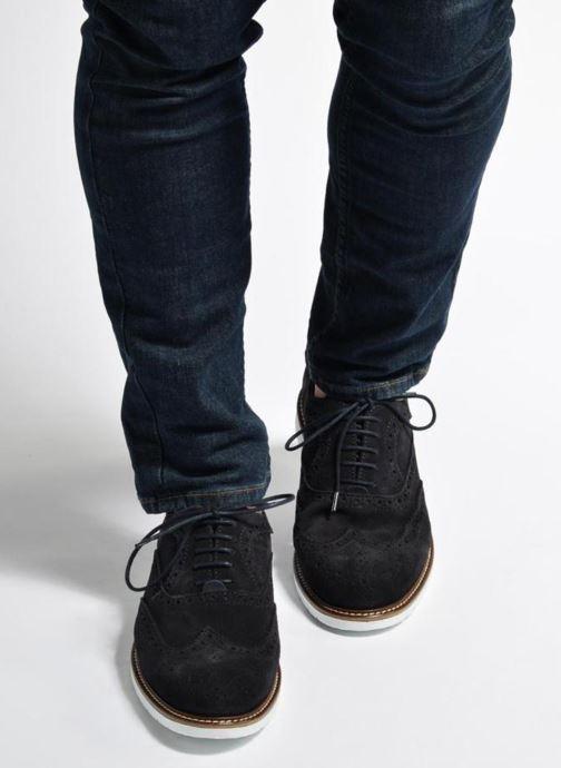 Zapatos con cordones Mr SARENZA Clydor Azul vista de abajo