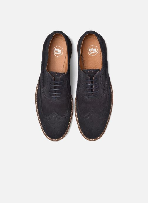 Zapatos con cordones Mr SARENZA Clydor Azul vista del modelo