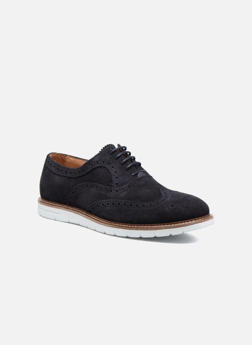 Zapatos con cordones Mr SARENZA Clydor Azul vista lateral derecha