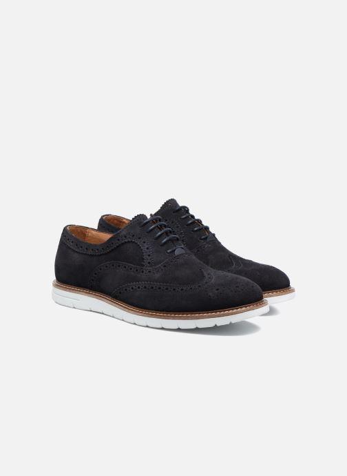 Zapatos con cordones Mr SARENZA Clydor Azul vistra trasera