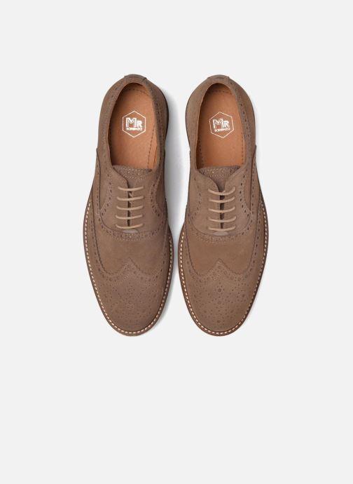 Zapatos con cordones Mr SARENZA Clydor Marrón vista del modelo