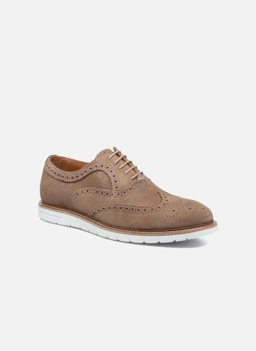 Chaussures à lacets Mr SARENZA Clydor Marron vue droite