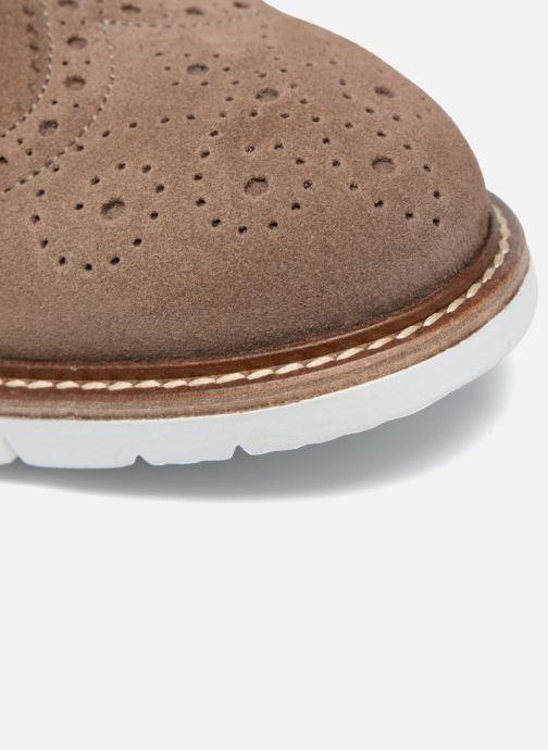 Zapatos con cordones Mr SARENZA Clydor Marrón vista lateral izquierda