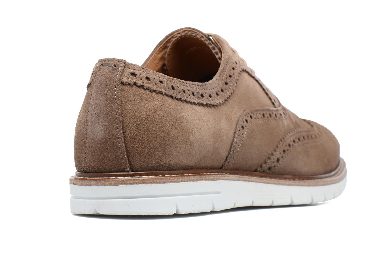 Chaussures à lacets Mr SARENZA Clydor Marron vue face