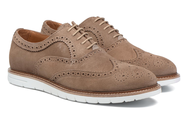 Chaussures à lacets Mr SARENZA Clydor Marron vue derrière