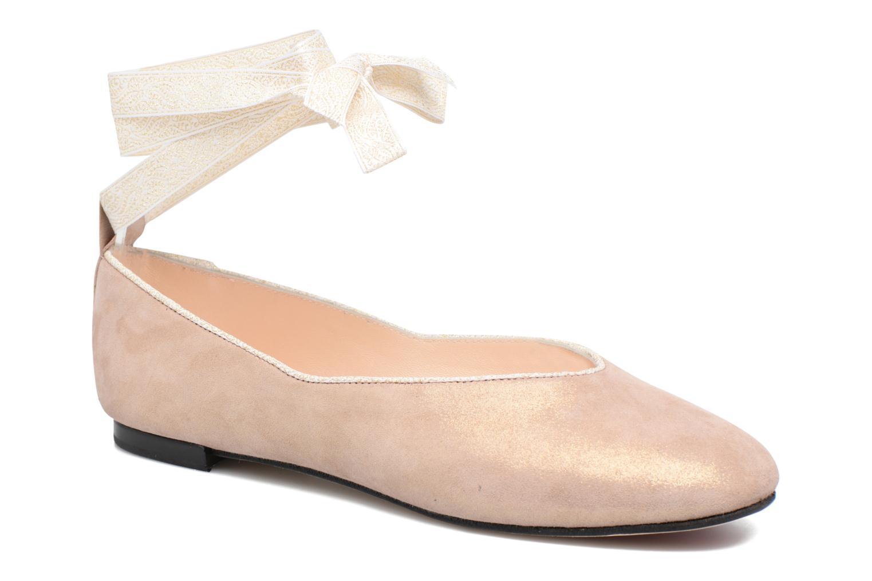 Ballerines Opéra national de Paris Odrani Rose vue détail/paire