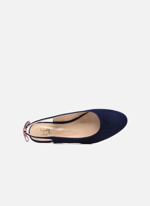 Ballet pumps HE Spring Calvi Blue view from the left