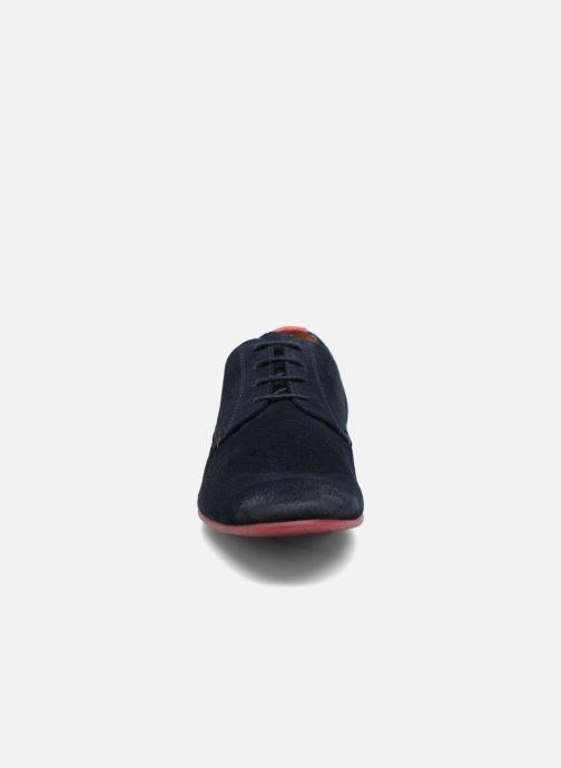 Zapatos con cordones HE Spring Peter Azul vista del modelo