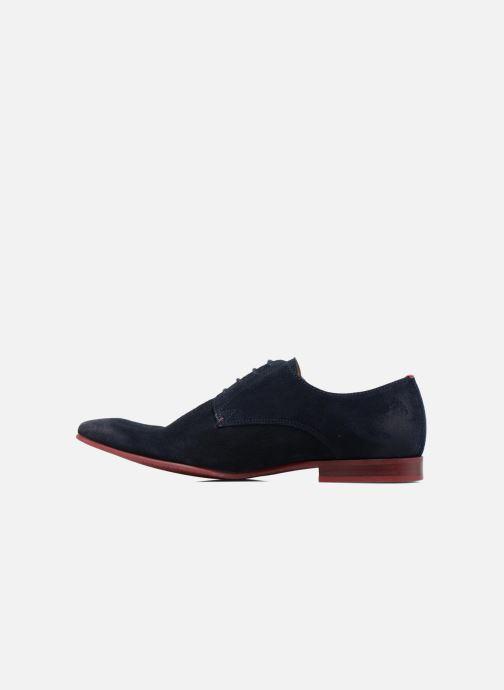 Zapatos con cordones HE Spring Peter Azul vista de frente