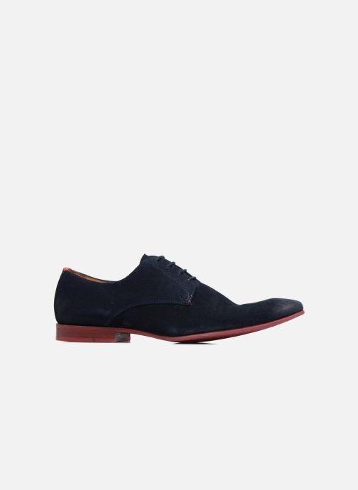 Zapatos con cordones HE Spring Peter Azul vistra trasera