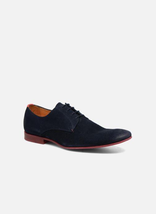 Chaussures à lacets HE Spring Peter Bleu vue détail/paire