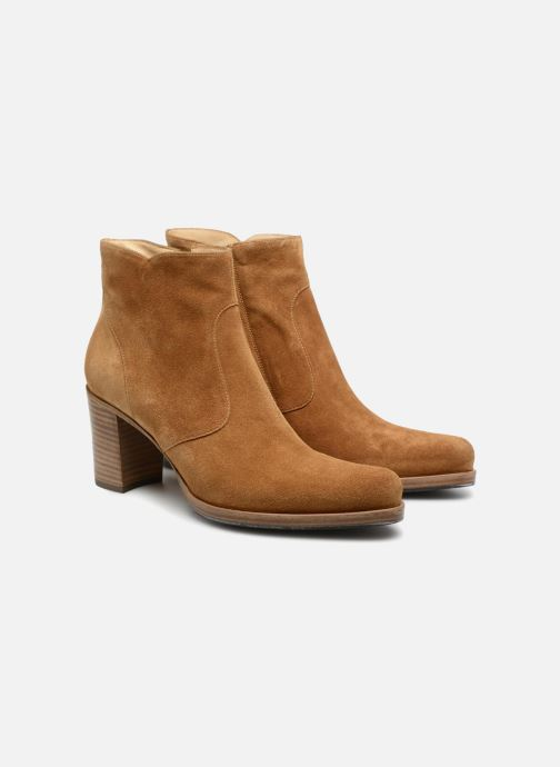 Ankle boots Free Lance Paddy 7 Zip Boot Beige 3/4 view