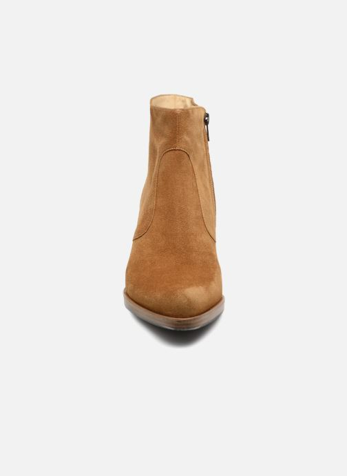 Ankle boots Free Lance Paddy 7 Zip Boot Beige model view