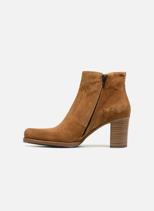 Ankle boots Free Lance Paddy 7 Zip Boot Beige front view