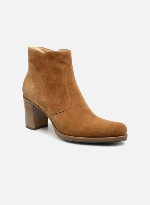 Ankle boots Free Lance Paddy 7 Zip Boot Beige detailed view/ Pair view