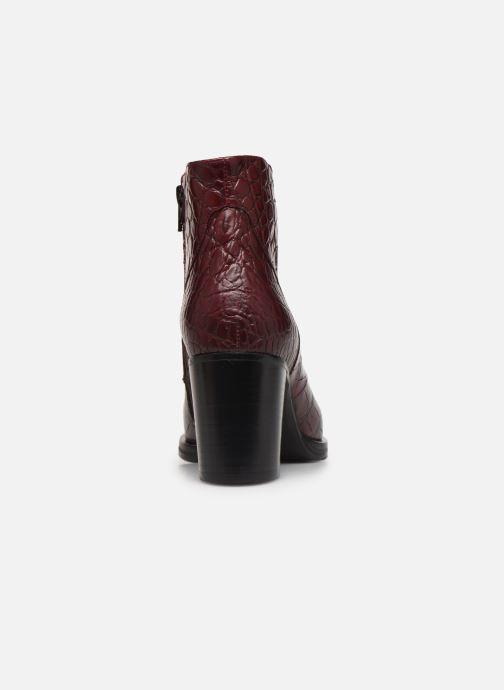 Bottines et boots Free Lance Paddy 7 Zip Boot Bordeaux vue droite