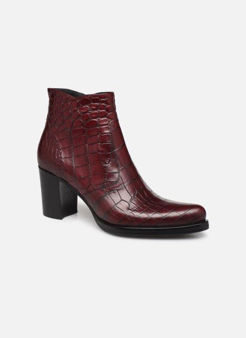 Bottines et boots Free Lance Paddy 7 Zip Boot Bordeaux vue détail/paire