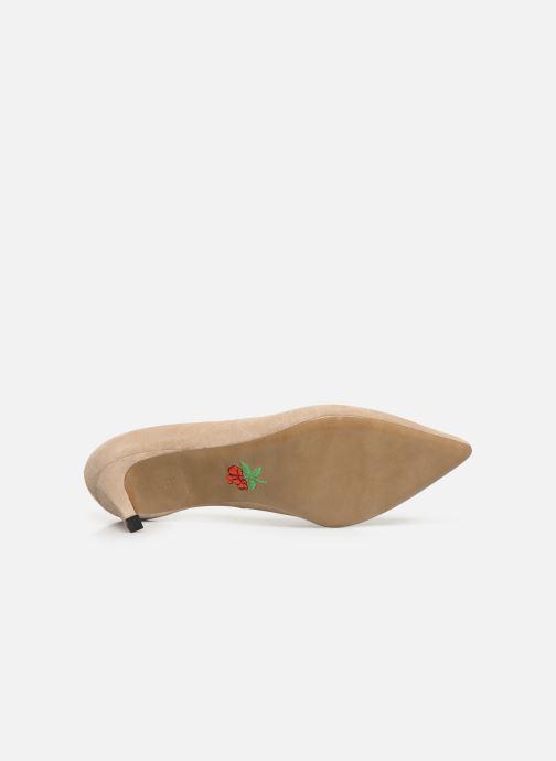Zapatos de tacón Free Lance Itlys 4 Pumps Beige vista de arriba