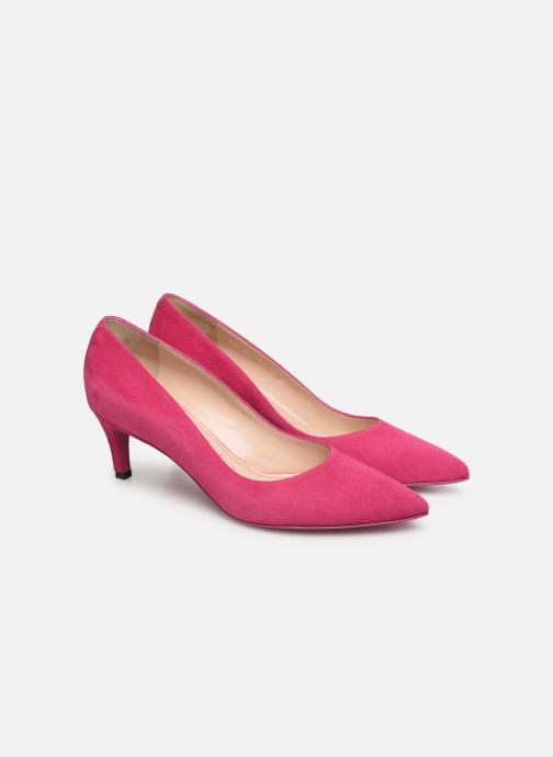 High heels Free Lance Itlys 4 Pumps Pink 3/4 view