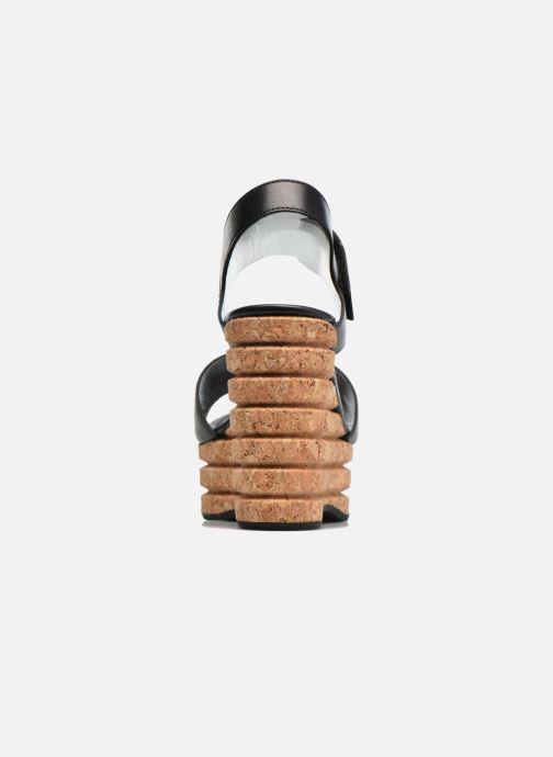 Sandales et nu-pieds Free Lance Eny 7 Sandal Velcro Noir vue droite