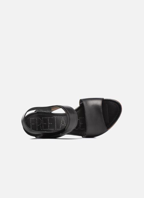 Sandales et nu-pieds Free Lance Eny 7 Sandal Velcro Noir vue gauche