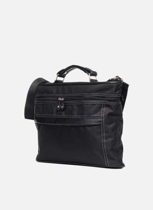 Business Cristo Sacoche PM 13' schwarz schuhe getragen